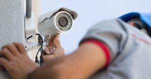 Sicherheitstechnik Überwachungskamera